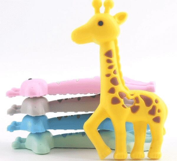 Girafa de Silicona Alimenticia