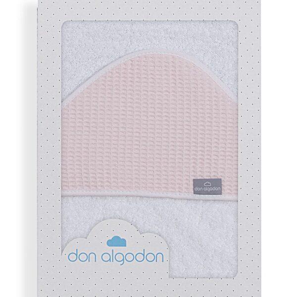 capa de baño astrid blanco rosa