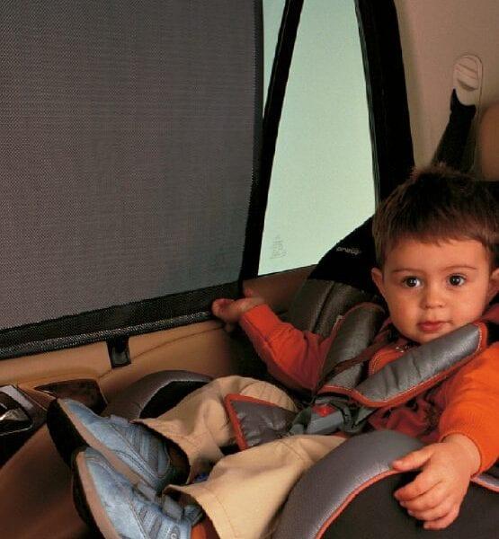 cortina parasol enrollable coche