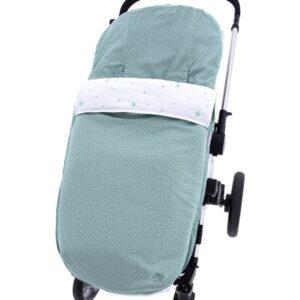 Saco de silla universal 776 altea verde algodon punto