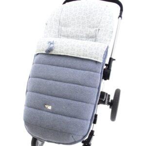 Saco de silla universal Aries pelo polar Balancín Celeste empolvado Lana