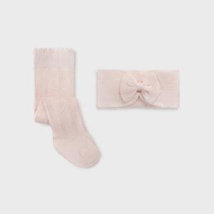 Leotardo de trama tupida para recién nacida niña 0 a 18 Meses con cintura elástica para un mejor ajuste. Es una accesorio combinable y versátil, ideal como complemento de cualquier look.